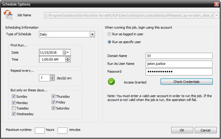 image-16 Tutorial de como criar um backup completo semanal, um backup diferencial diário e um backup de imagem mensal (com retenção)