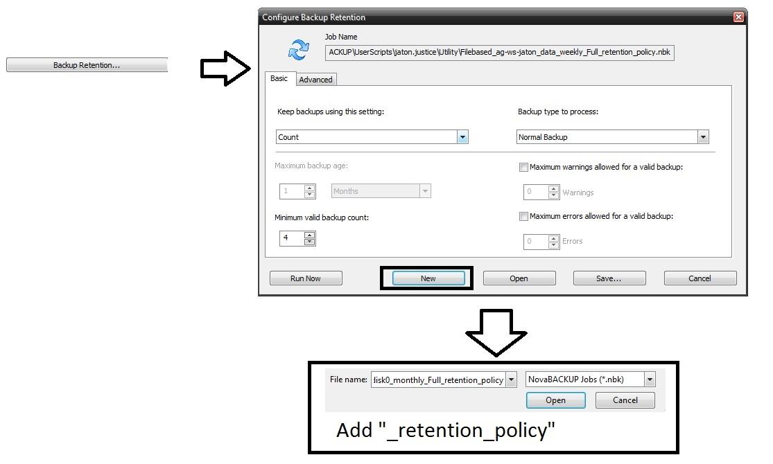 image-44 Tutorial de como criar um backup completo semanal, um backup diferencial diário e um backup de imagem mensal (com retenção)