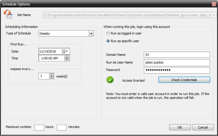 image-8 Tutorial de como criar um backup completo semanal, um backup diferencial diário e um backup de imagem mensal (com retenção)