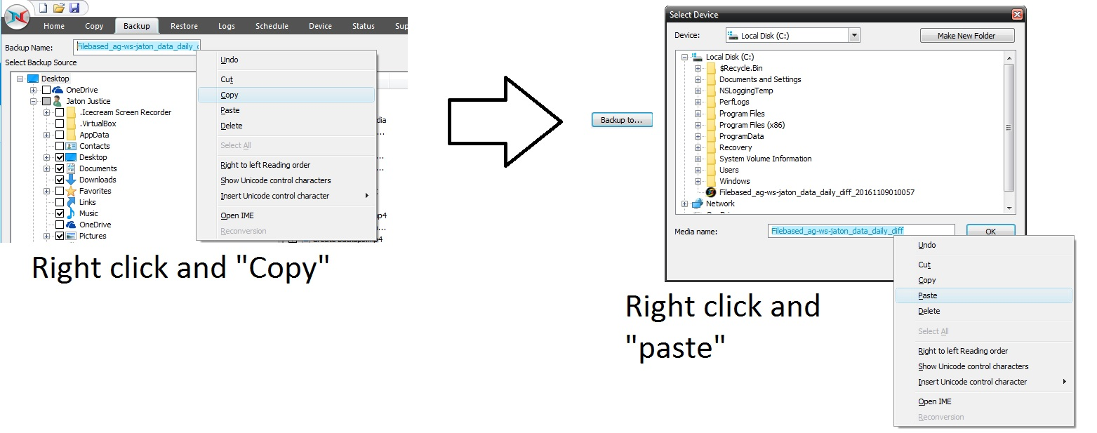 image-12 Tutorial de como criar um backup completo semanal, um backup diferencial diário e um backup de imagem mensal (com retenção)