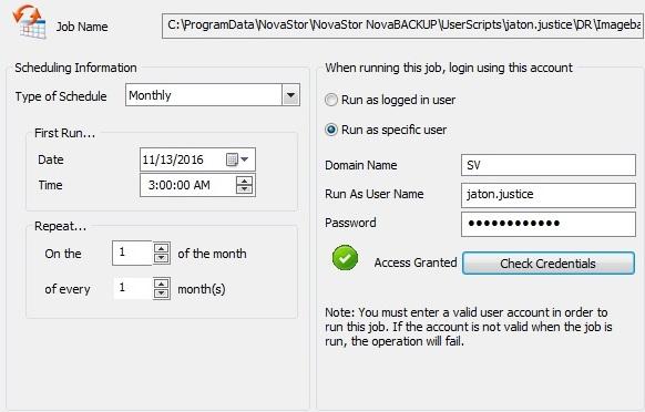 image-26 Tutorial de como criar um backup completo semanal, um backup diferencial diário e um backup de imagem mensal (com retenção)