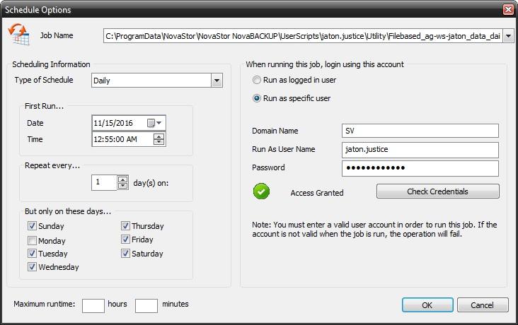 image-42 Tutorial de como criar um backup completo semanal, um backup diferencial diário e um backup de imagem mensal (com retenção)