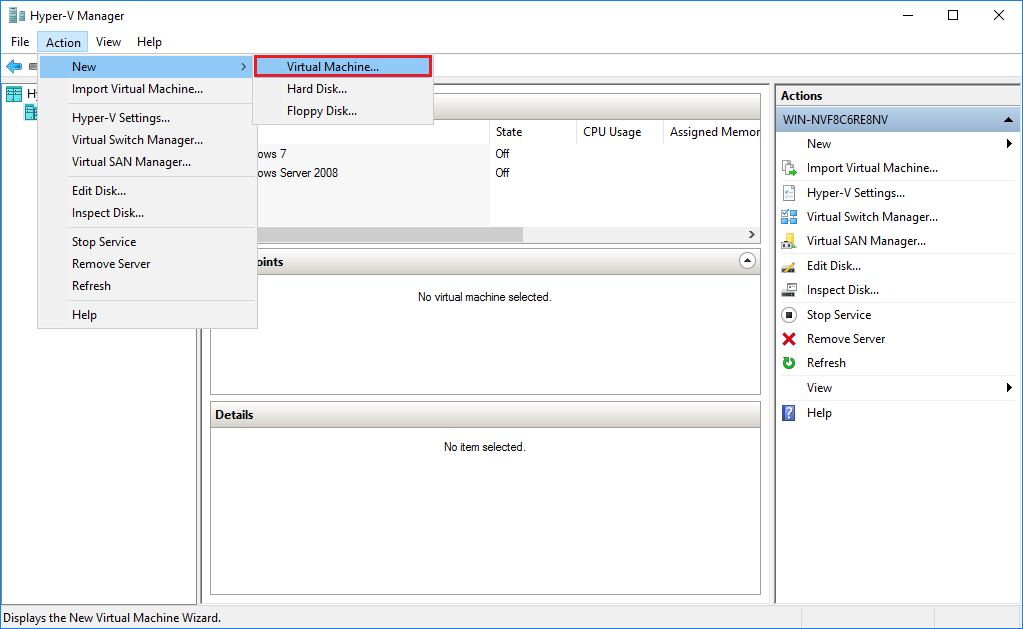 How to Attach an Existing Virtual Hard Disk (VHD/X) in Hyper-V